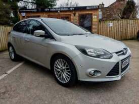 64 REG FORD FOCUS 1.6TDCi ( 115ps ) ZETEC NAVIGATOR IN SILVER