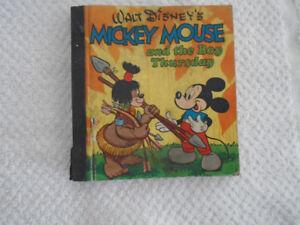 Copyright 1948 Walt Disney's Mickey Mouse And The Boy Thursday