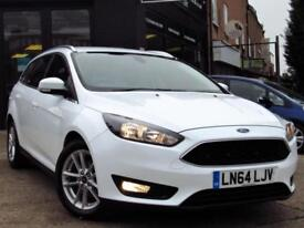 2014 FORD FOCUS 1.6 TI-VCT ZETEC POWERSHIFT (S/S) 5DR AUTOMATIC PETROL ESTATE PE