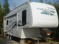Forest River Wildcat 5th wheel 29 ft for sale