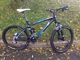 2010 TREK FUEL ex5 full suspension mountain bike