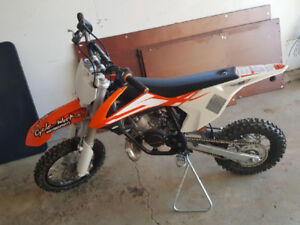 2016 KTM 50 sx (like new under 3 hrs drive time)
