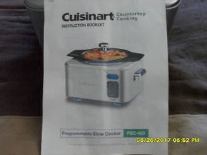 Cuisinart Model PSC-400 Slow Cooker
