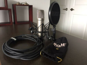 Rode NT1A Vocal Condenser Microphone Package