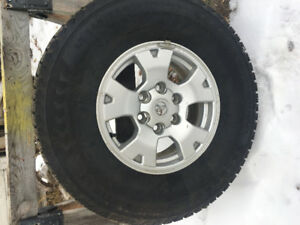 Nokian winter tires and rims  265/75/R16