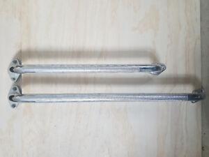 Metal grip handles