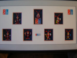 Domino's Pizza Framed Noid Collectibles - $125