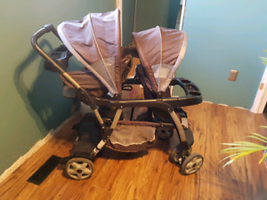 Graco ready2grow lx stroller