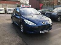 Peugeot 307 S 5dr PETROL MANUAL 05/55 IMMACULATE FAMILY HATCH LOW MILES 12M MOT