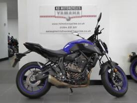 18 REG YAMAHA MT 07 ABS 2018 LATEST MODEL WITH YAMAHA ACCESSORIES SAVE 'S