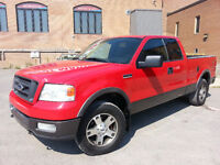 2004 Ford FX4 CUIR,TOIT , super clean, impeccable 160000 km.