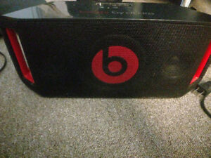 BEATS BY DRE- Portable Bluetooth Boombox.