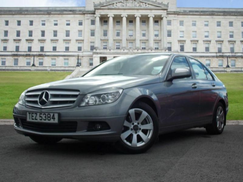 mercedes benz c class 2 1 c200 cdi se 4dr silver 2008 in castlereagh belfast gumtree. Black Bedroom Furniture Sets. Home Design Ideas