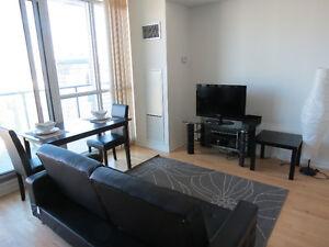 **Furnished Large 1 Bedroom @ Maple Leaf Square