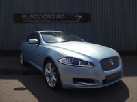 Jaguar XF V6 PREMIUM LUXURY (blue) 2012