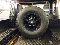 Land Rover Alloy Wheels & AT Tyres For Sale
