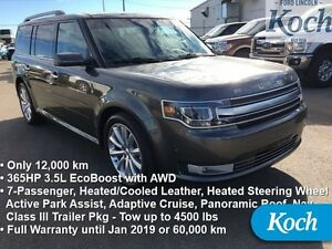 2015 Ford Flex Limited   - Low Mileage