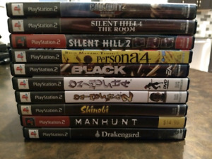 Sony PlayStation 2 (PS2) Games