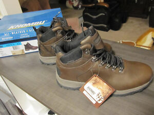 KHOMBU boots, size 12,All-Weather.All-Terrain, Leather, BNIB