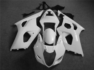 Plastic Injection Unpainted ABS Fairing Fit for Suzuki 2003 2004 GSXR1000 a00
