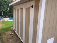 Pool and Garden Shed