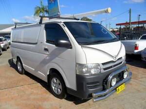 2008 Toyota Hiace TURBO DIESEL 3.0L MANUAL WHITE VAN Berala Auburn Area Preview