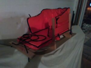 Pelican Baby / Child sled with cushion and Wagon