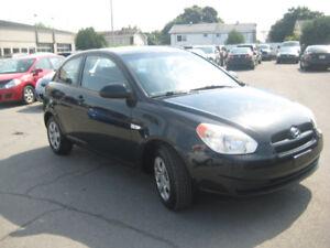 Hyundai Accent 2009 Coupe Manuelle 1700$ Financement Disponible