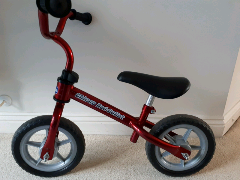 541a13bce42 Chicco red bullet balance bike | in Havant, Hampshire | Gumtree