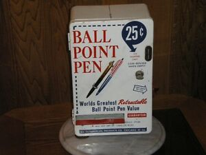 vintage pen dispenser
