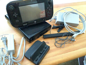 Wii u console and games