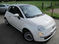 2012 FIAT 500 LOUNGE PANORAMIC ROOF HATCHBACK PETROL