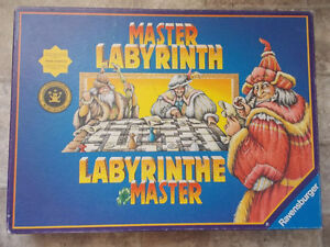Master Labyrinth by Ravensburger-1991, 1997-Complete London Ontario image 2