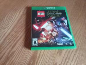 Jeu vidéo Lego Star Wars, pour XBOX ONE en parfaite condition