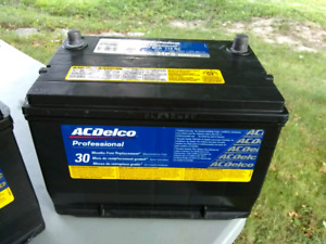 ACDelco car battery $50 - Model 34PS  660 CCA  115 RC