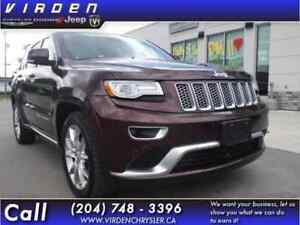 2015 Jeep Grand Cherokee 4X4 SUMMIT **LEATHER SEATS! SUNROOF!**
