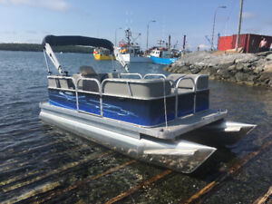 Pontoon Boat Package w/ motor *Compact 14 or 16Ft or 18 Ft  NS