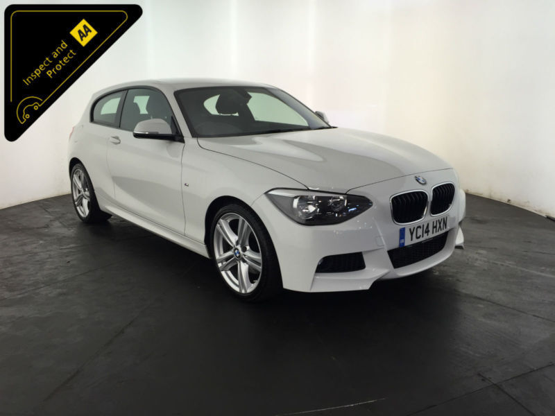 2014 BMW 125D M SPORT 3 DOOR HATCHBACK 1 OWNER FINANCE PX WELCOME