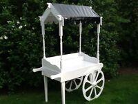 Hand built bespoke candy cart