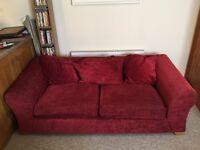Set of 2 Red Sofas
