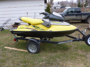1998 seadoo XP limited,new trailer