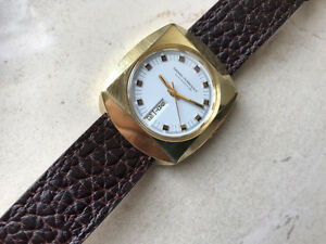 LUXURY SWISS MADE VINTAGE GIRARD PERREGAUX MEN'S WATCH