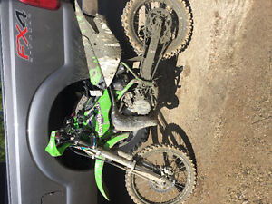 1999 KX 100 $600 in receipts a new top end