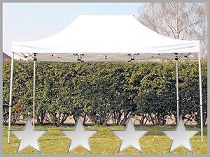 faltzelt faltpavillon 3x4 5m wei partyzelt pavillon. Black Bedroom Furniture Sets. Home Design Ideas