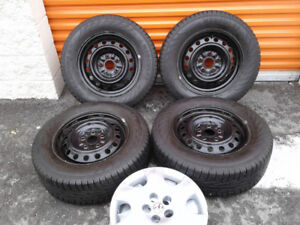 Set roues Hiver complet Toyota 205 65R15 Marshal Hercules q neuf