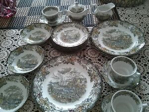RIDGWAY HERITAGE BARTLETTS 25 Piece Set SOLD PPU