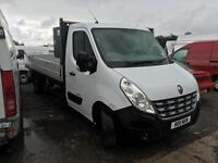 Renault Master 2.3TD 100 Euro IV LWB CCLL35dCi 2011 122000 miles Alloy dropside