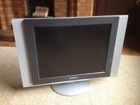 "Samsung 20"" LCD TV."