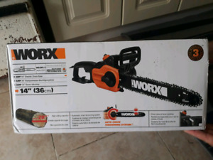 "Worx WG 305.1 Electric chainsaw 14 "" 36 cm"