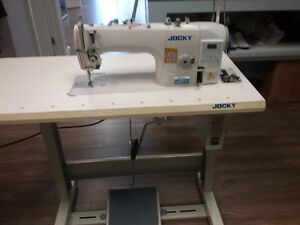 Industrial sewing machines/brand new jocky